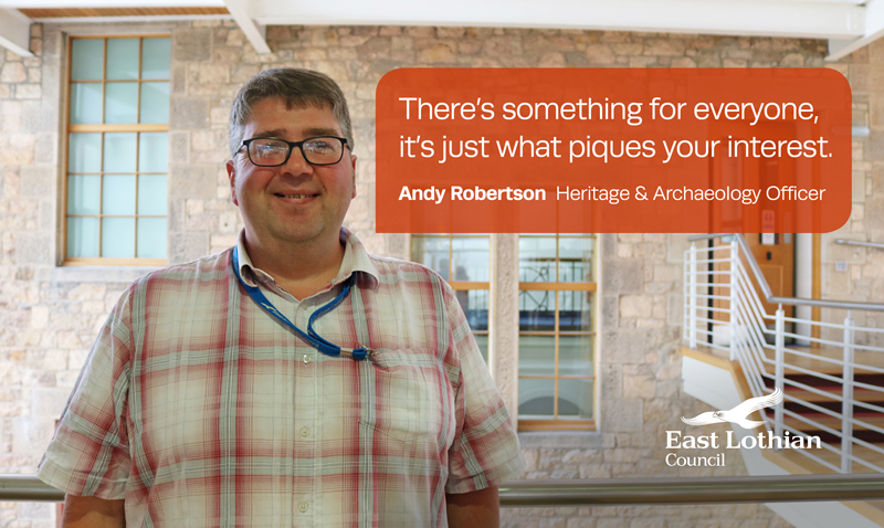 Andy Robertson, Heritage and Archaeology Officer