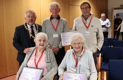 Winners of Tenants and Residents awards at Scottish Housing Day 2019