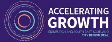 Logo: Edinburgh and South East Scotland city region deal - accelerating growth