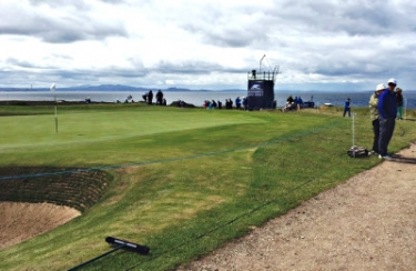 Gullane Sunday course green