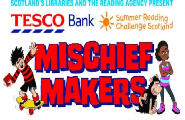 Summer reading challenge Scotland - Mischief Makers