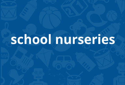 Image link to information on school nurseries' 1140 hours provision